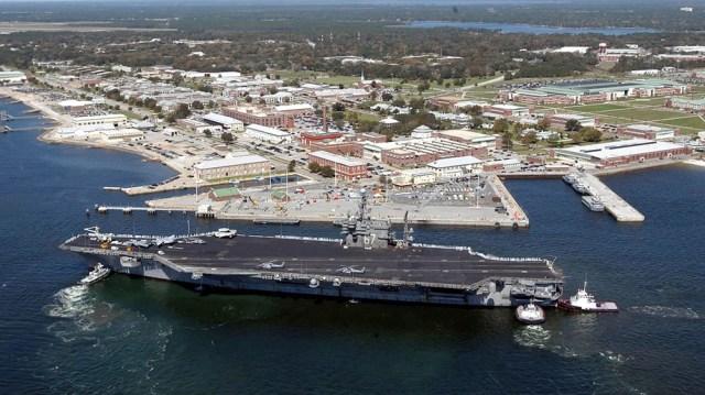 Florida navy base
