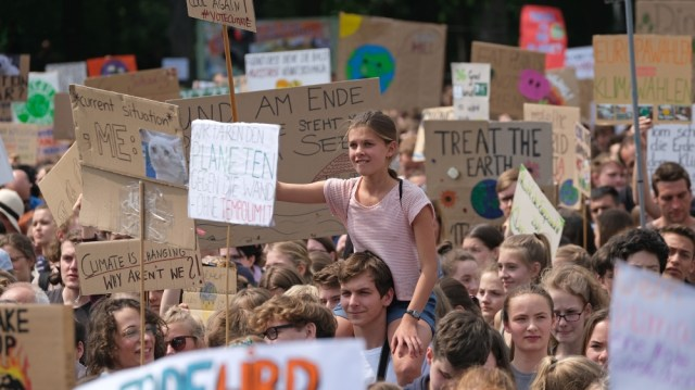 Fridays For Future Climate Protest In Berlin