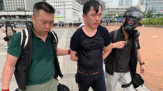 Hong Kong protest [Euan McKirdy/Al Jazeera]