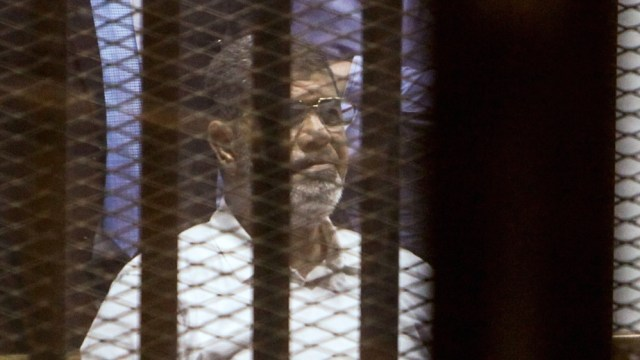 Egypt's former president Mohamed Morsi sentenced to 20 years in prison