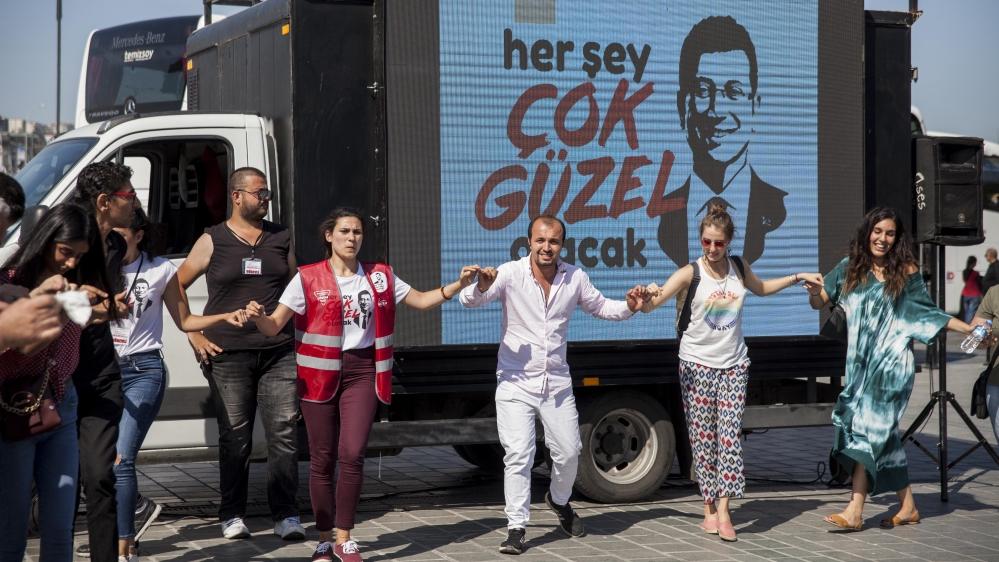 Istanbul mayor race 2