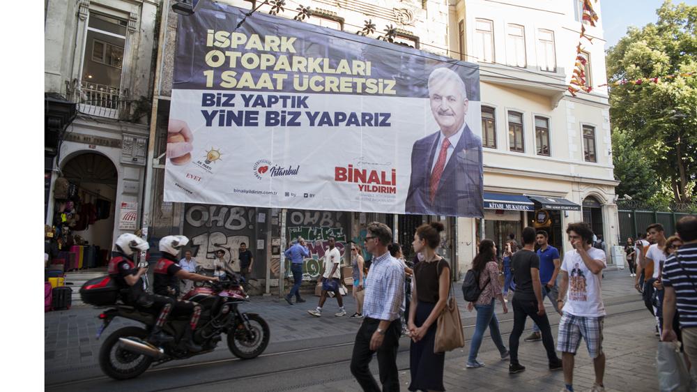 Istanbul Mayor race