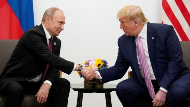 Trump-Putin meeting at G20 Japan