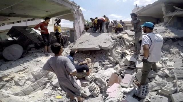 Syria Idlib airstrike