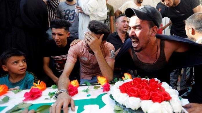 air raids - Iraq