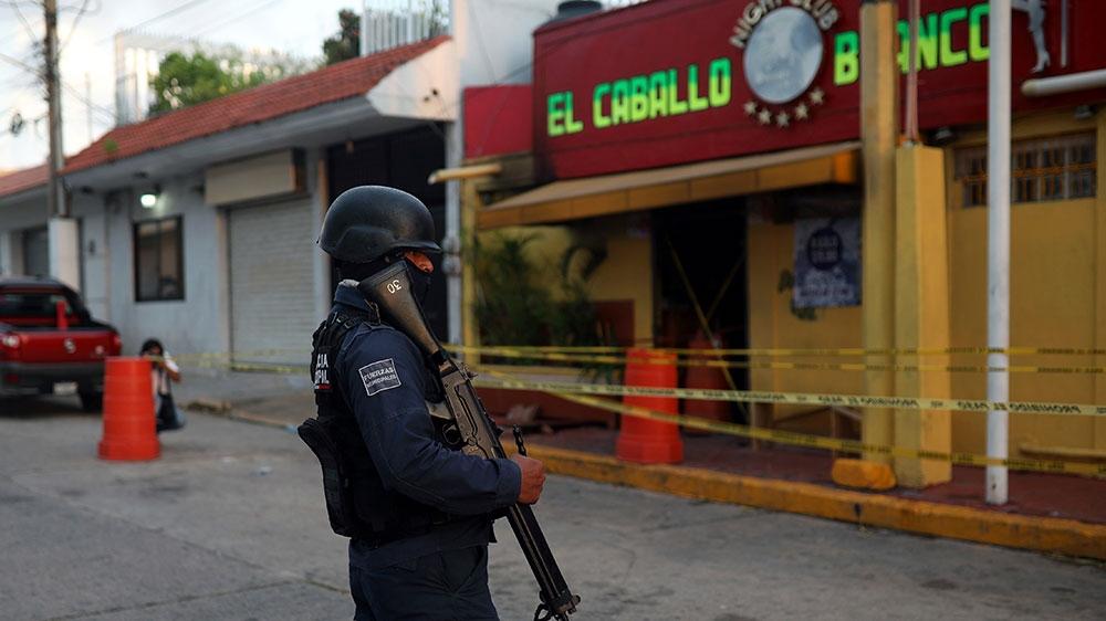 Mexico arson attack