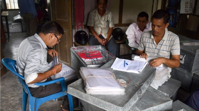 NRC officials, Assam India
