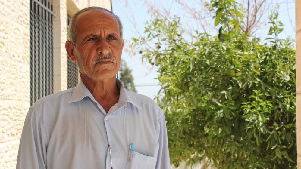 Hussein Sa'ida [Arwa Ibrahim/Al Jazeera]