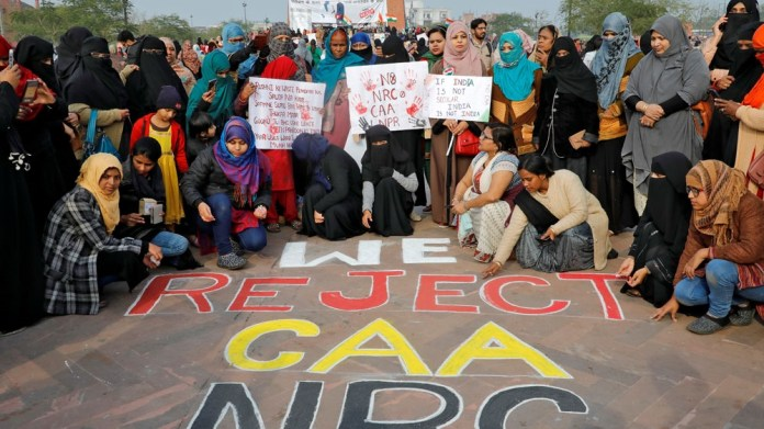 India protests against CAA