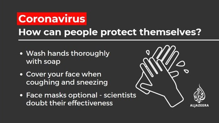 Coronavirus: How can people protect themselves?