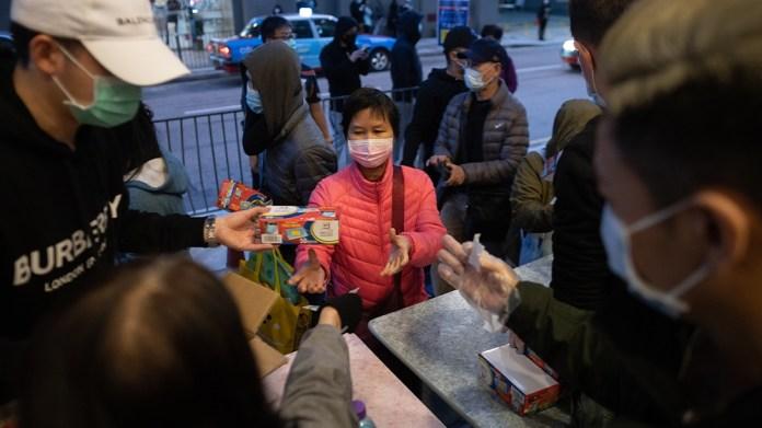 Hong Kong masks