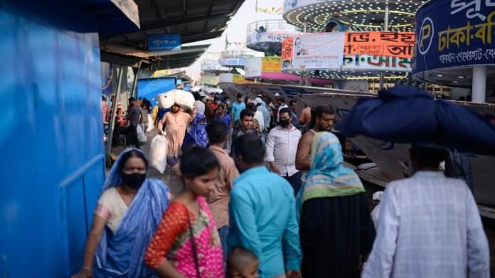Dhaka traffic