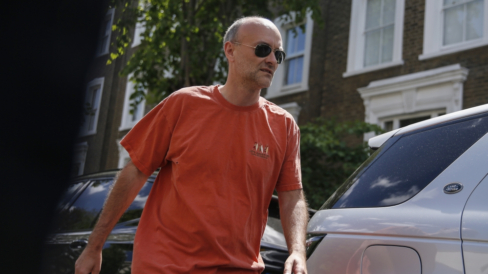 British Prime Minister's Chief Advisor Investigated By Police For Breaking Lockdown Rules