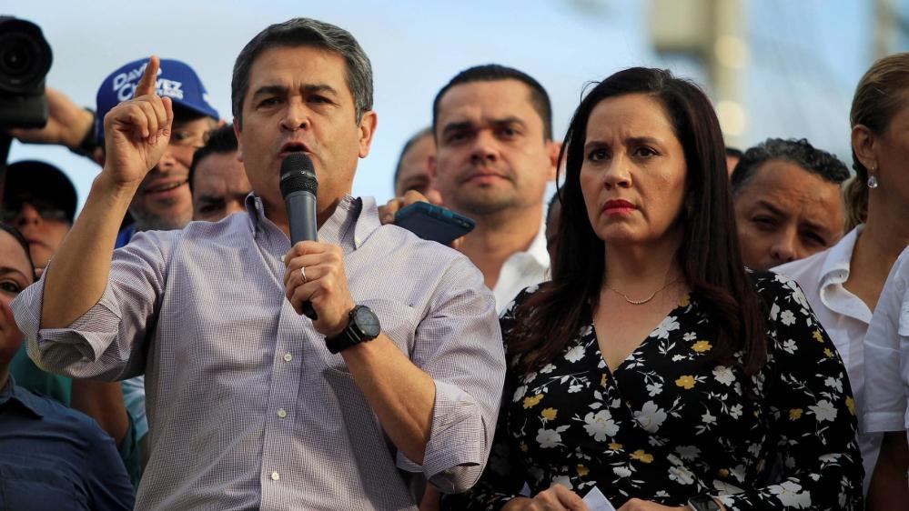 Honduran President Juan Orlando Hernandez,