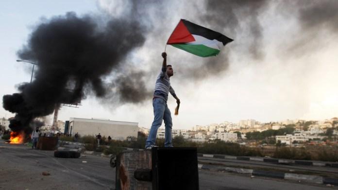 Palestine protest AP