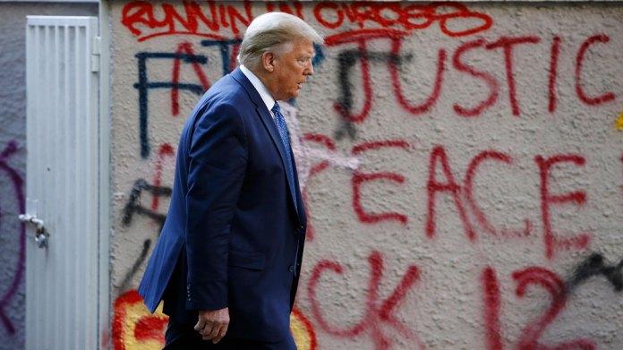 Trump w Graffitti