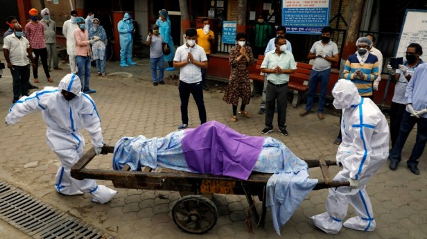 The coronavirus disease (COVID-19) outbreak in New Delhi