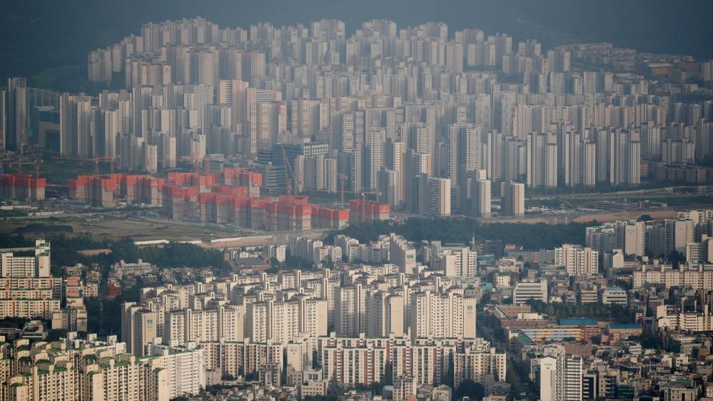 سیئول میں اپارٹمنٹ کمپلیکس کا عمومی نظریہ
