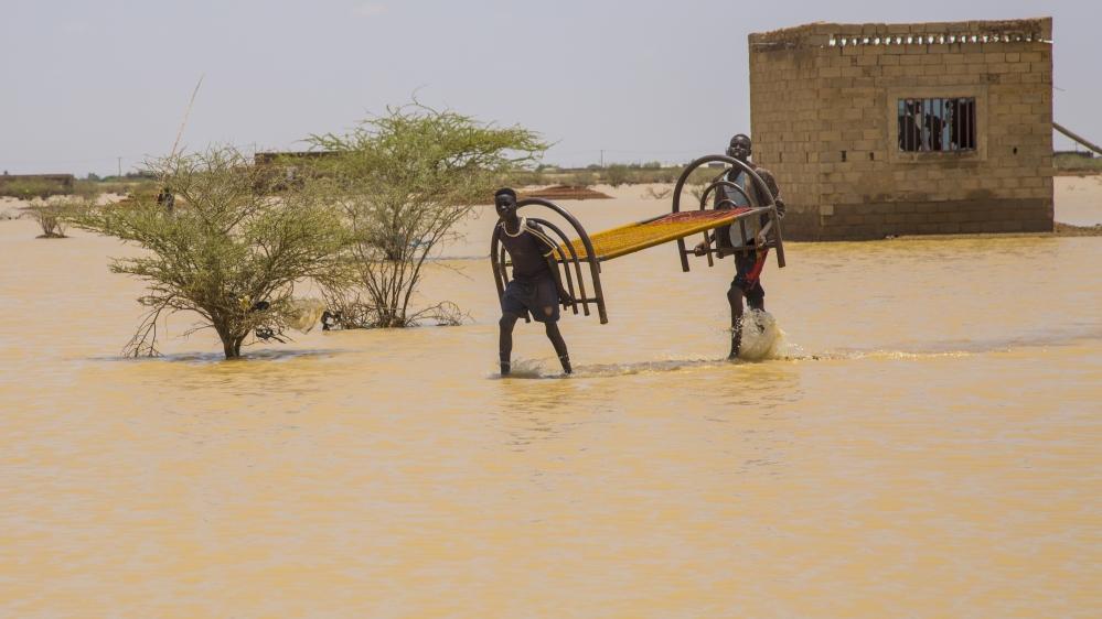 سوڈان میں سیلاب