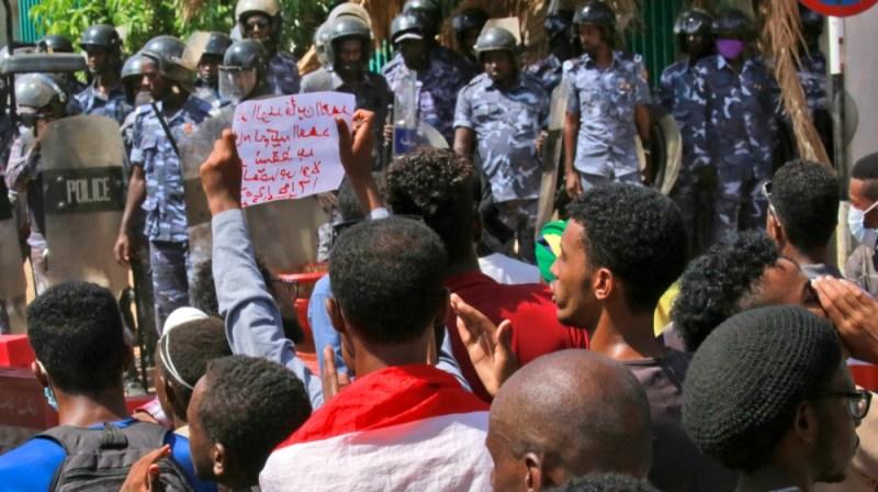 سوڈان کا احتجاج