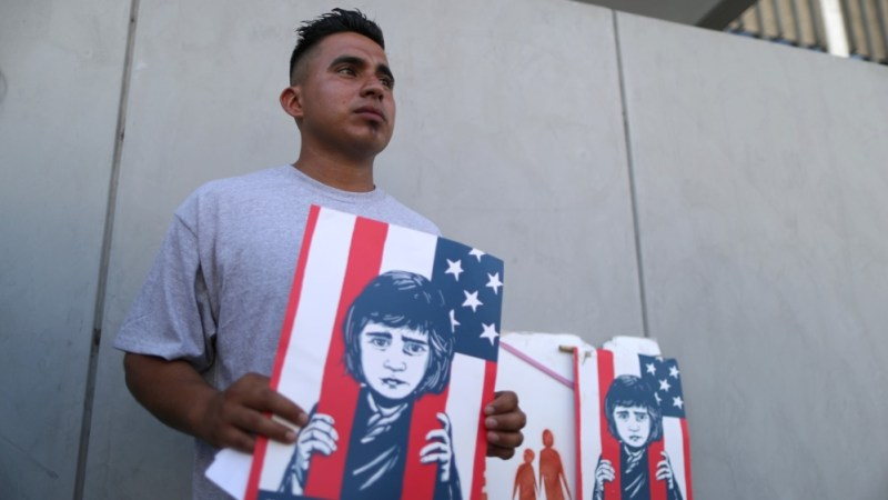 Asylum seeker and former immigrant detainee Mateo Lemus Campos