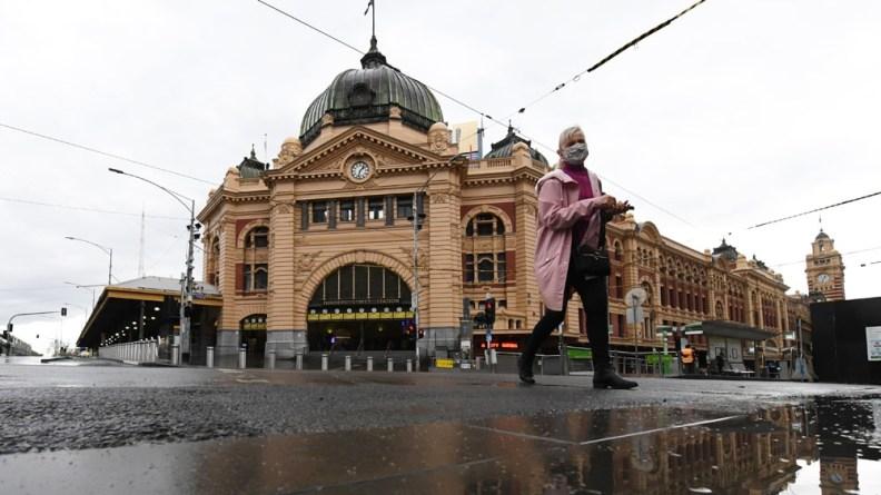 Melbourne in the rain