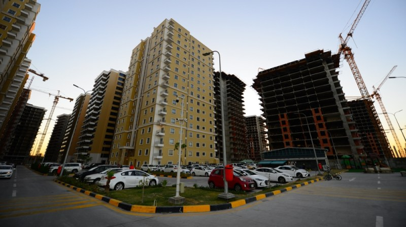 Iraq Gate is a flagship residential real estate development in central Baghdad. The project includes 49 buildings with 5,160 apartments. It will also feature a hospital, school, a police station and i