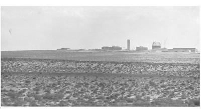 Dimona nuclear facility in Israel