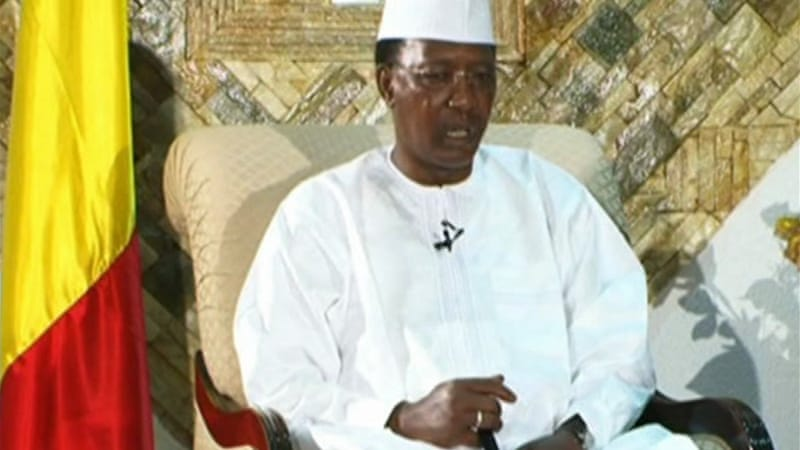 Image result for photos of h r mcmaster Idriss deby
