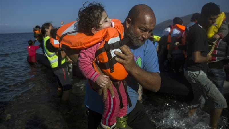 More than 4.2 million Syrians have fled their country as the civil war continues [Santi Palacios/AP]