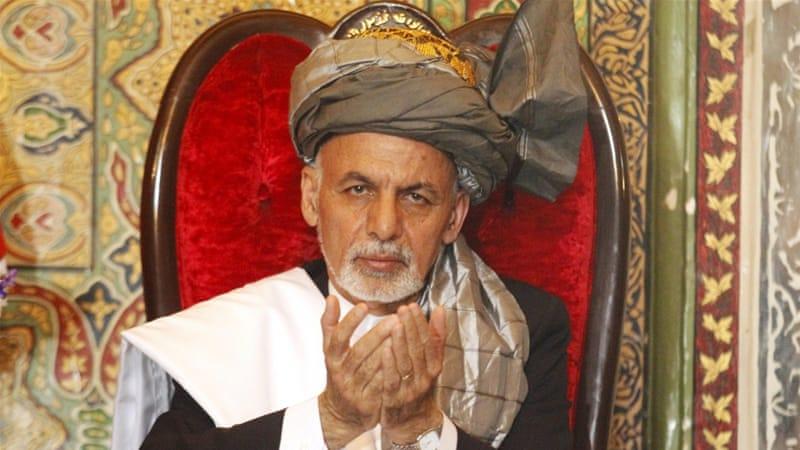 Afghan President Ashraf Ghani [REUTERS]