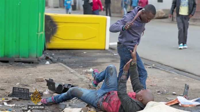 Image result for attacks against Nigerians in South Africa