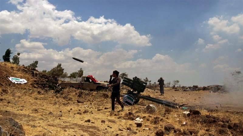 Syrian rebels have fought both the Assad government and one another in the Golan region [File: Alaa Al-Faqir/Reuters]