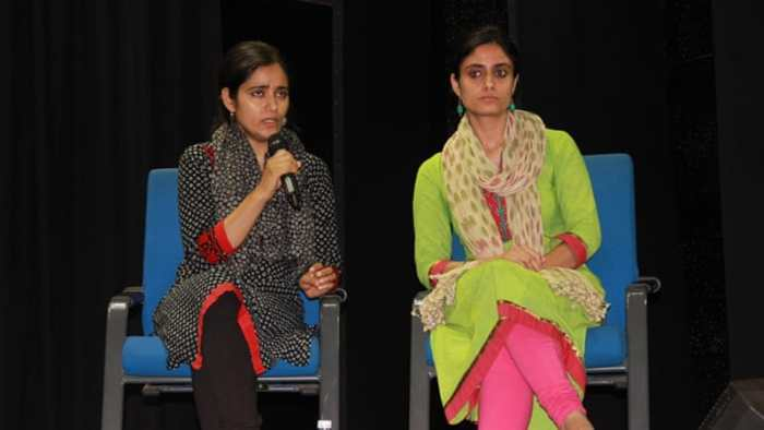 Butt and Natasha Rather, along with three others, co-wrote the book Do you Remember Kunan Poshpora'?, published earlier this year [Urvashi Sakar/Al Jazeera]
