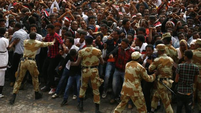 What's fuelling protests in Ethiopia?