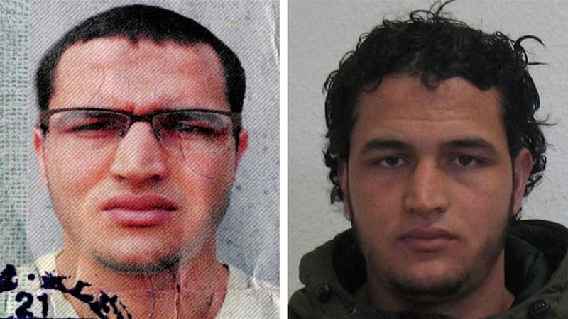 Security forces warned of returning fighters as Tunisian Anis Amri, above, was suspected of carrying out the Berlin attack [Reuters]