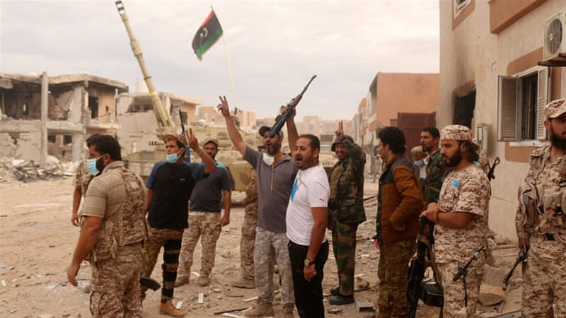 The victory in Sirte follows a bitter seven-month campaign against ISIL in the area [Reuters]
