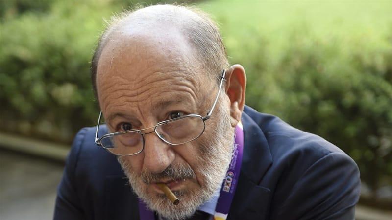 Italian writer Umberto Eco [AP]