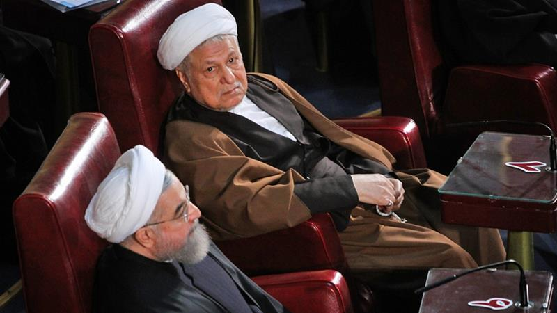 Rouhani and his ally, former president Rafsanjani, could play a role in picking the next supreme leader [Mohammad Ali Najib/Al Jazeera]