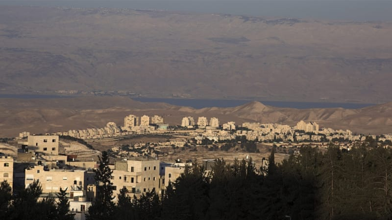 A general view of the Israel Jewish West Bank settlement seen from Jerusalem [EPA]