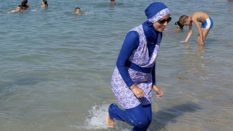 Image result for Burkini ban overturned in France