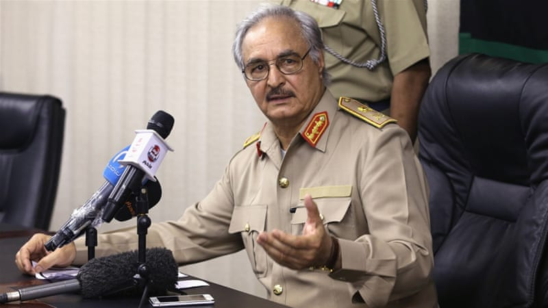 Image result for Khalifa Haftar,, photos