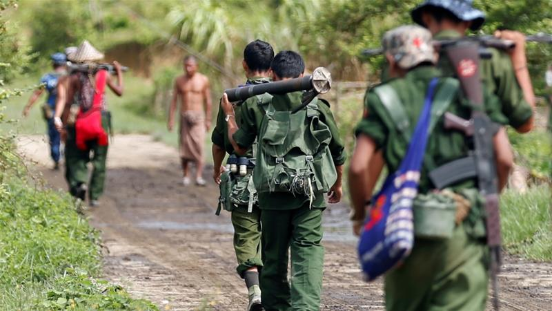 Israel has not divulged details of its ties to Myanmar's military government, but public records show that it has sold the military there armed patrol boats, guns and surveillance equipment [File: Soe Zeya Tun/Reuters]