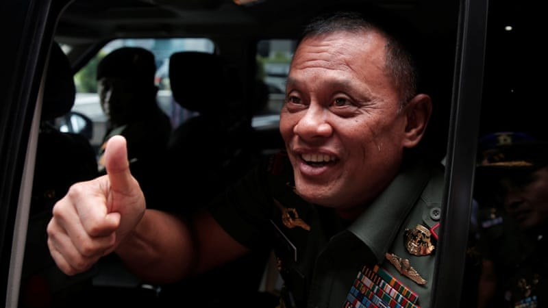 General Gatot Nurmantyo in Indonesia [Beawiharta/File Photo Reuters]