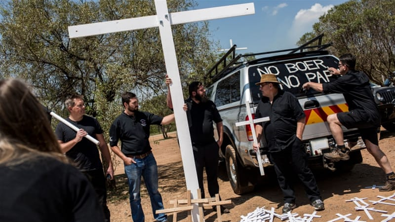 #BlackMonday: White farmers protest against farm murder