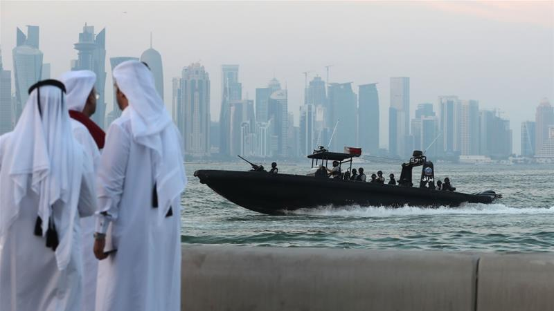 The IMF expects a 3.1 percent GDP growth for Qatar in 2018 compared to 2.5 percent in 2017 [File: AFP]