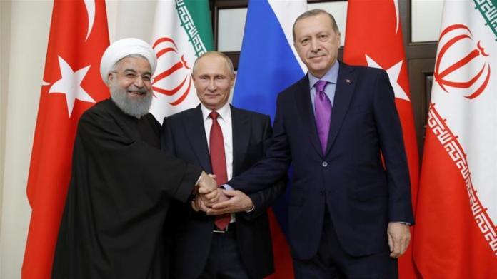 Image result for putin erdogan rouhani