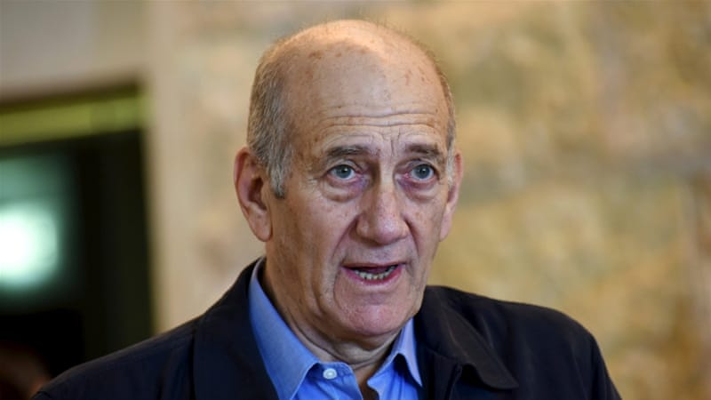 The main convictions against Olmert dated to before his time as prime minister [Reuters]