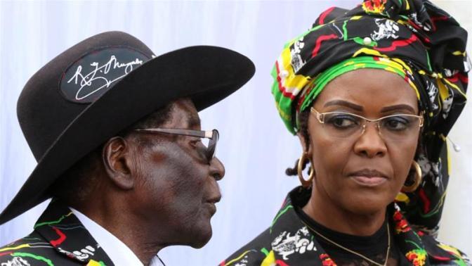 Al Jazeera Grace almost succeded her husband Mugabe, 93 [Philimon Bulawayo/Reuters