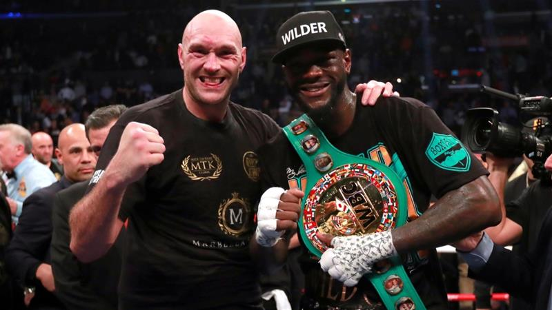 Image result for wilder fury
